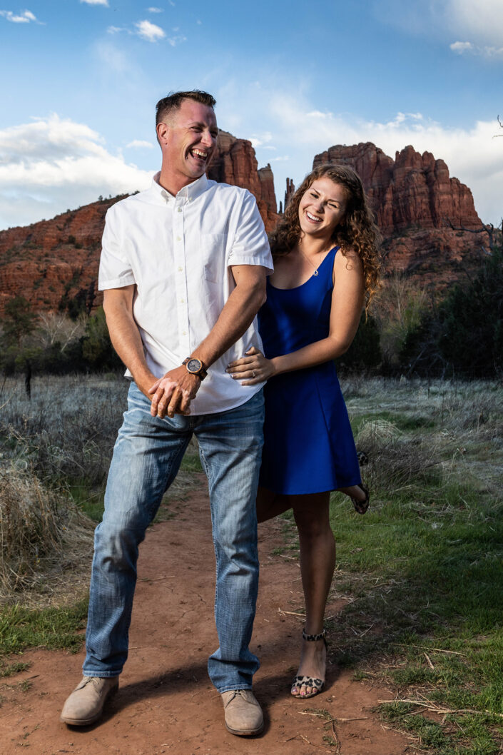 Engagement Photo. Photo: Mike Vos Photography